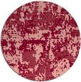 rug #1071382 | round pink popular rug