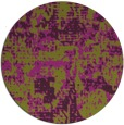 rug #1071394 | round purple faded rug