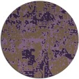 rug #1071398 | round faded rug