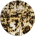rug #1071454 | round brown faded rug