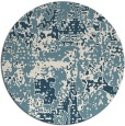 rug #1071464 | round faded rug