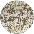 rug #1071474 | round yellow graphic rug