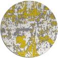 rug #1071478 | round white popular rug