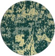 rug #1071486 | round faded rug