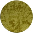 rug #1071490 | round light-green graphic rug
