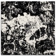 rug #1071894 | square black graphic rug