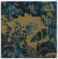 rug #1071918 | square mid-brown rug