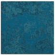 rug #1071942 | square blue-green graphic rug