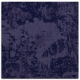 rug #1071978   square blue-violet abstract rug