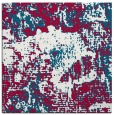rug #1072010 | square red abstract rug