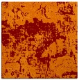 rug #1072094 | square red-orange abstract rug
