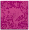 rug #1072110 | square pink graphic rug