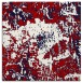 rug #1072142 | square red graphic rug