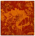 rug #1072146 | square orange abstract rug