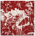 rug #1072150 | square red abstract rug