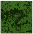 rug #1072174 | square light-green graphic rug