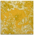rug #1072206 | square yellow abstract rug
