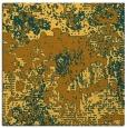 rug #1072218 | square light-orange abstract rug
