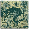 rug #1072222 | square yellow abstract rug