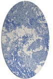 rug #1072308 | oval abstract rug