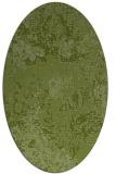 rug #1072386   oval green rug