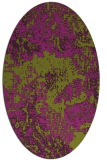 rug #1072500 | oval graphic rug