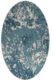 rug #1072566   oval white graphic rug