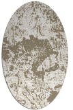 rug #1072570 | oval beige graphic rug