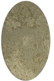 rug #1072598 | oval light-green graphic rug