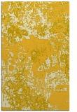 rug #1072942    yellow abstract rug