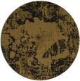 rug #1073014 | round mid-brown rug