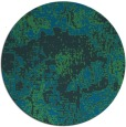 rug #1073062   round blue abstract rug
