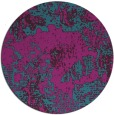 rug #1073078 | round pink abstract rug
