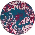 rug #1073117 | round abstract rug