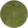 rug #1073122 | round green abstract rug