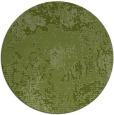 rug #1073122 | round green rug