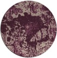 rug #1073158 | round pink abstract rug