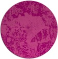 rug #1073214   round pink abstract rug
