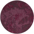 rug #1073230 | round abstract rug