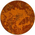 rug #1073262 | round red-orange abstract rug