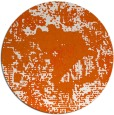 rug #1073274 | round red-orange abstract rug