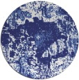 rug #1073290 | round white abstract rug