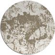 rug #1073306 | round beige abstract rug