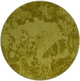 rug #1073330 | round light-green abstract rug