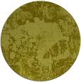 rug #1073330 | round light-green graphic rug