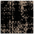 rug #1077422 | square black graphic rug