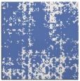 rug #1077458 | square blue graphic rug