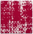 rug #1077530 | square red faded rug