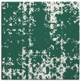 rug #1077546 | square green traditional rug