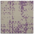 rug #1077594 | square purple faded rug